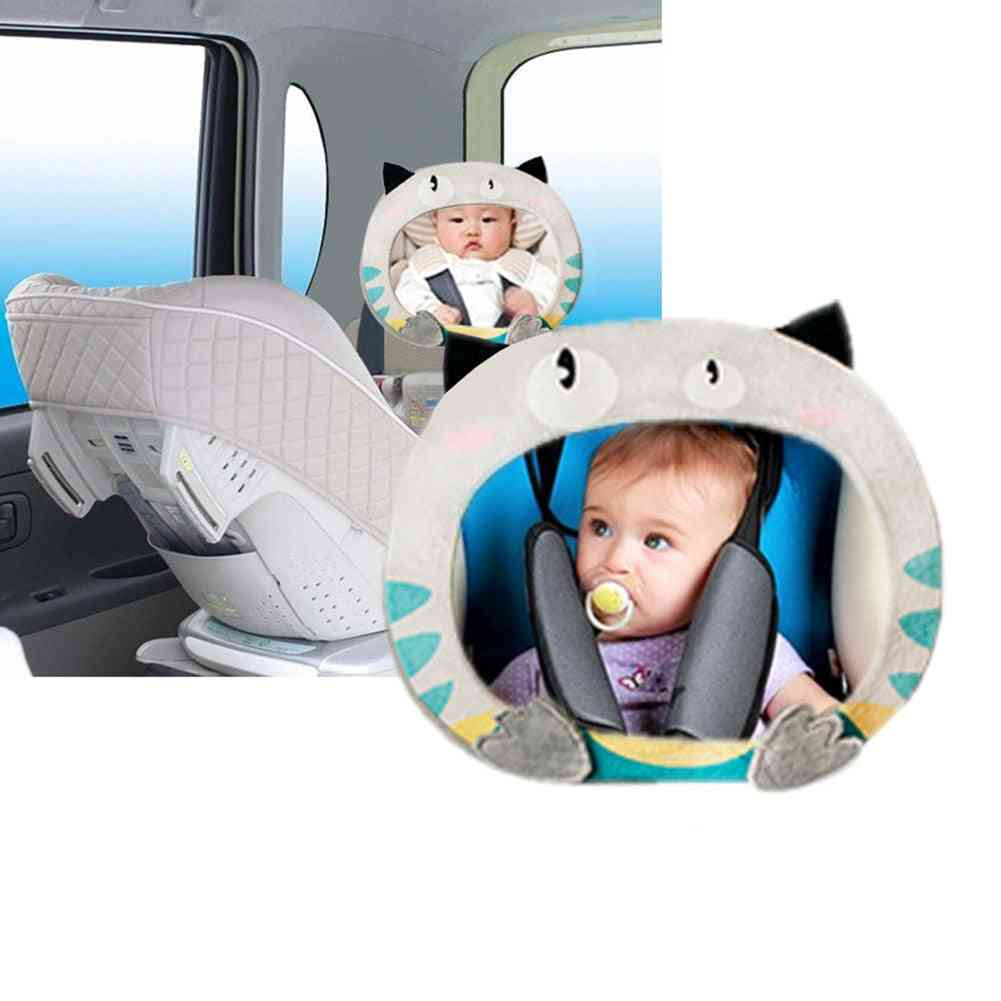 Car Rear Monitor For Baby Safety Back Seat Rearview Mirror