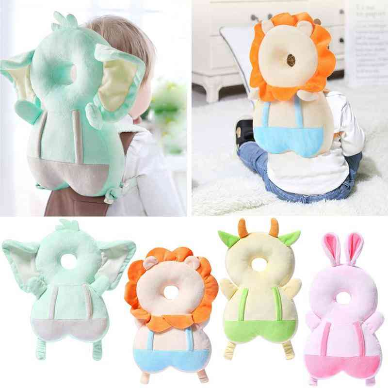 Baby Head Protection Cute Cartoon Breathable Infant Anti-fall Pillow