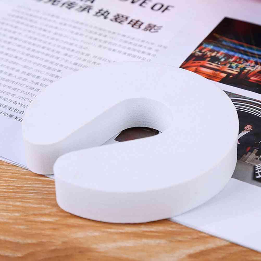 6pcs Soft Reusable, C Shaped Door Safety Finger Guards