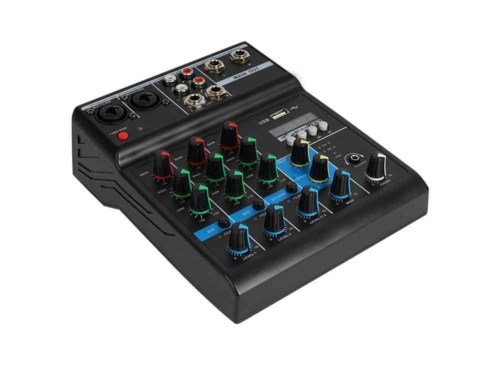 Bluetooth Audio Mixer,  Professional Karaoke With Usb Amplifier