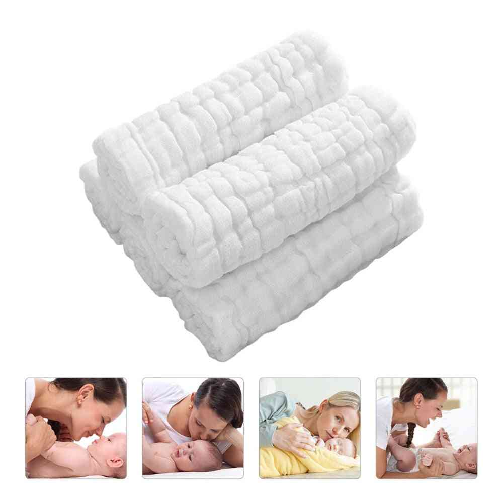 12 Layers Cotton Cloth Used As A Diaper, Bath Towel, Wipe, And More Purposes