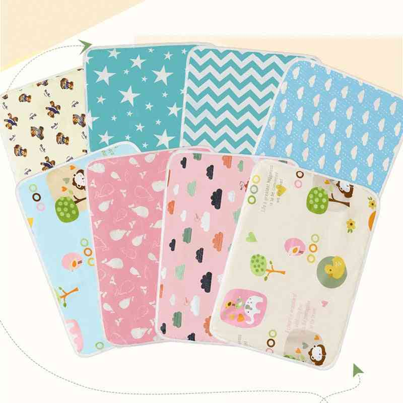 Portable, Foldable And Washable-waterproof Baby Diaper Changing Mat