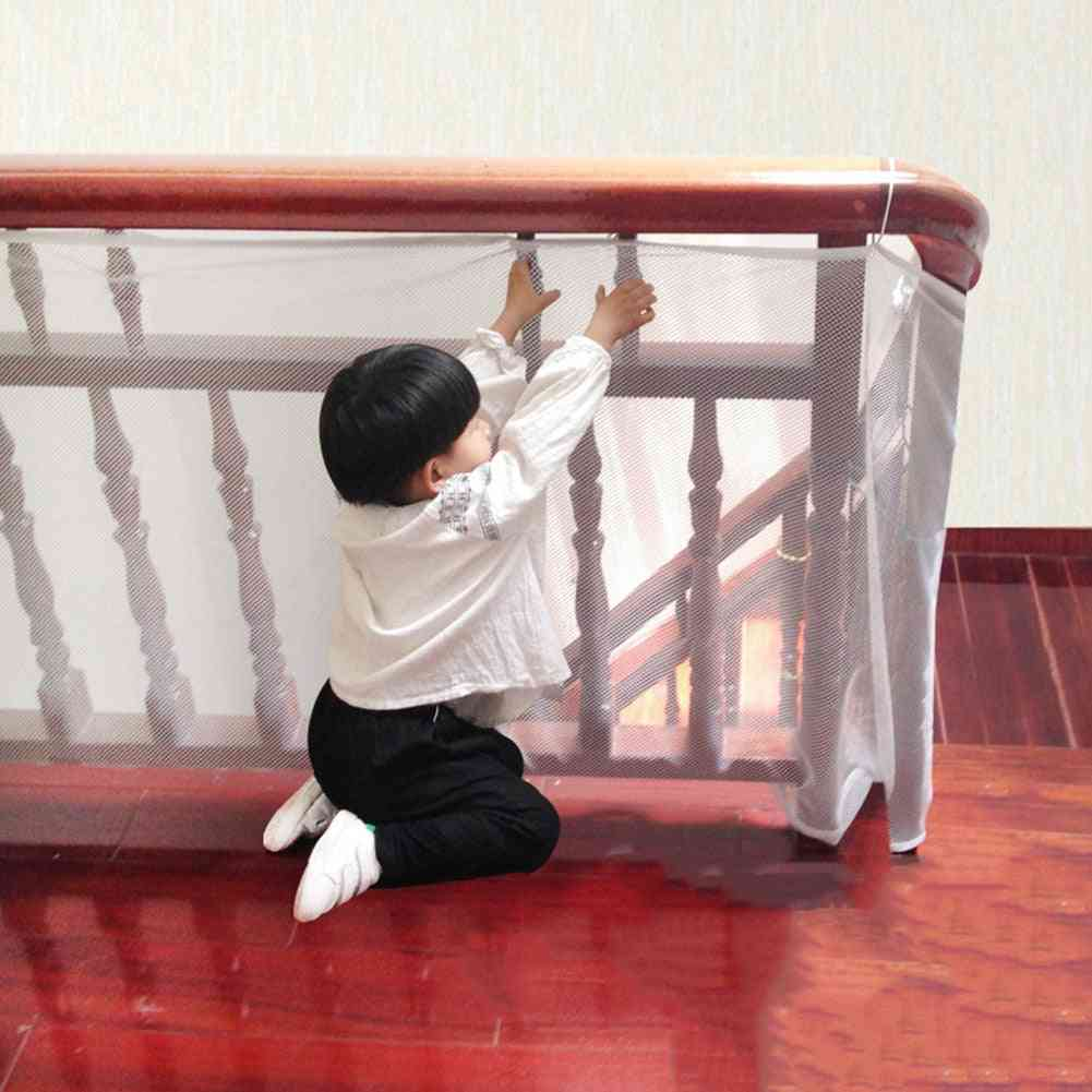 Children Protection Stair Fence, Thick Hard Mesh Safety Net