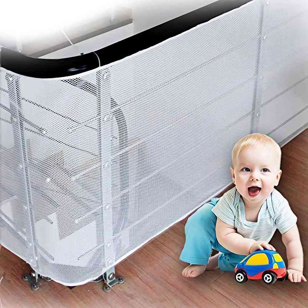 Baby, Kids, Safety Net, Thickened Fence, Mesh Home, Balcony Stairs Rail Protection, Domestic Easy To Install
