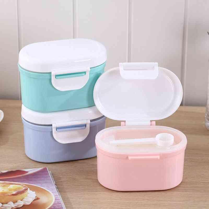 High Capacity Baby Milk Powder Container, Food Storage Box