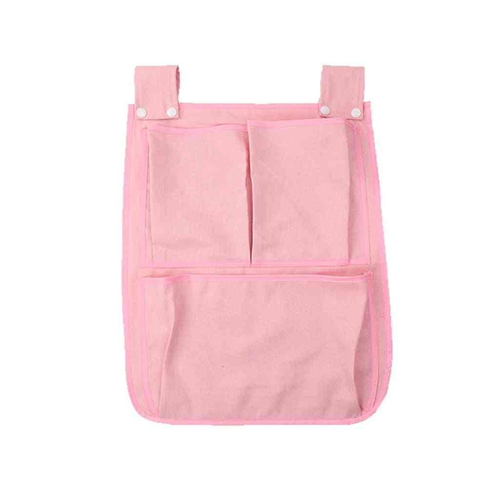 Portable Crib Organizer, Large Capacity Storage Bag