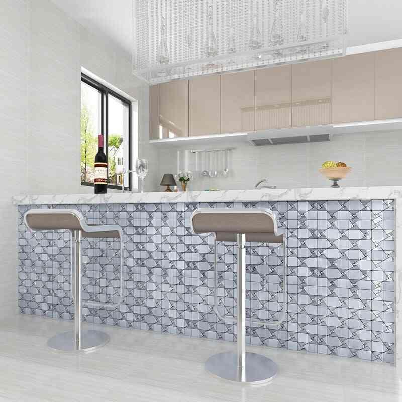 Geometric Pattern, Mural 3d Wallpaper For Living Room/ Bedroom/ Bathroom/ Kitchen