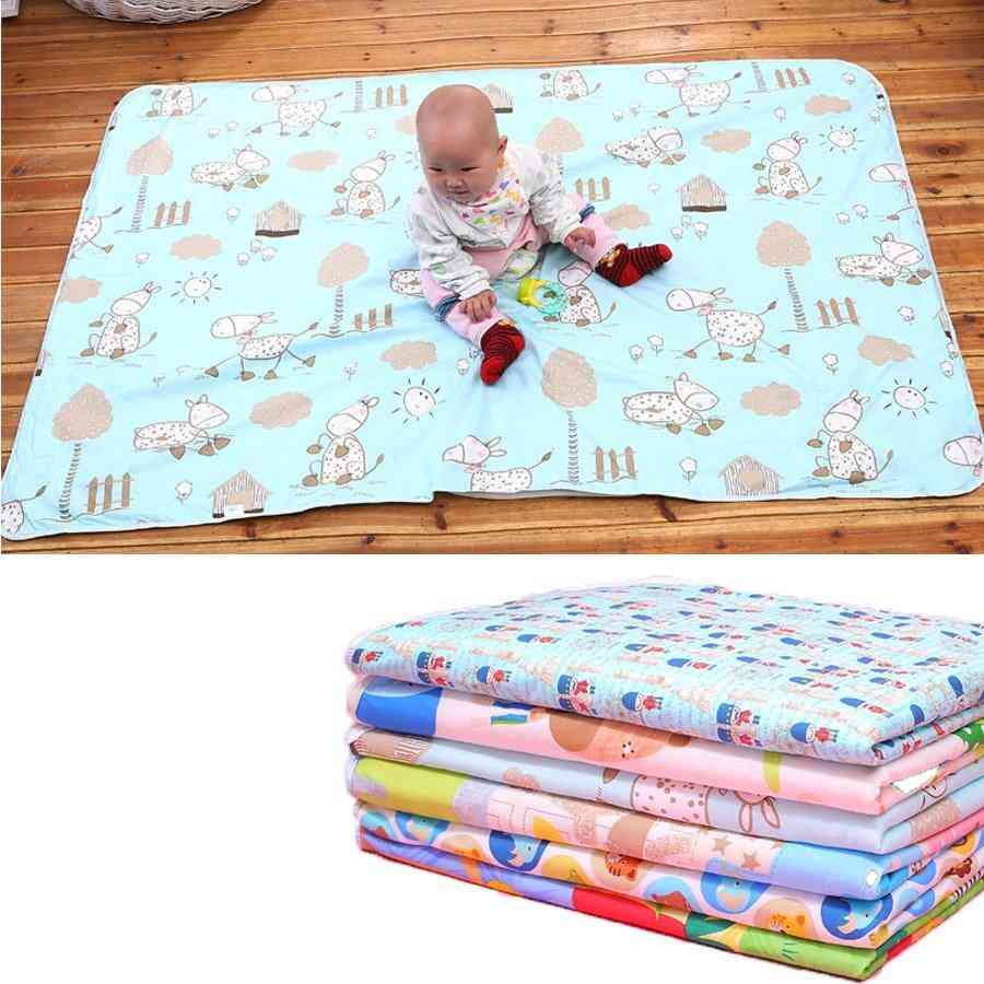 3 Layes Waterproof,  Reusable Nappy Changing Mat