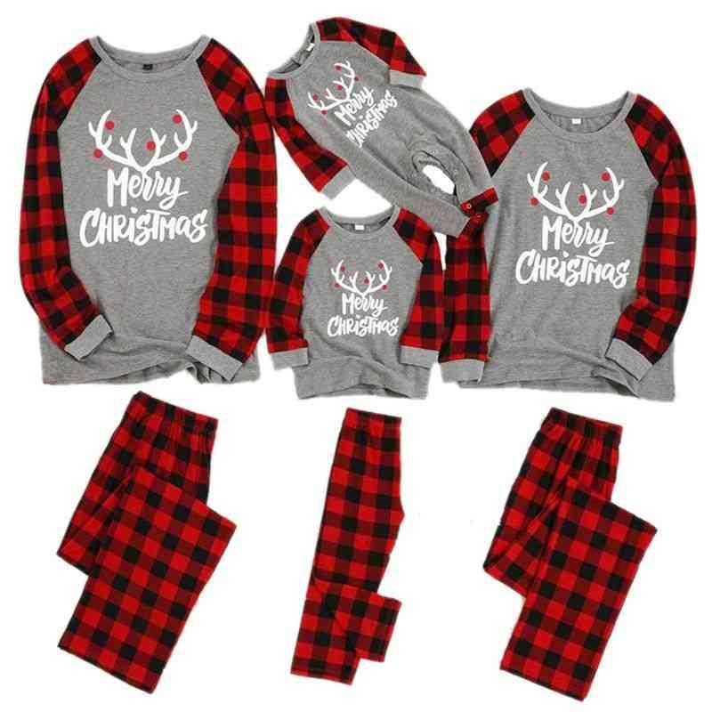 Family Matching Pajamas Set, Nightwear Baby Romper