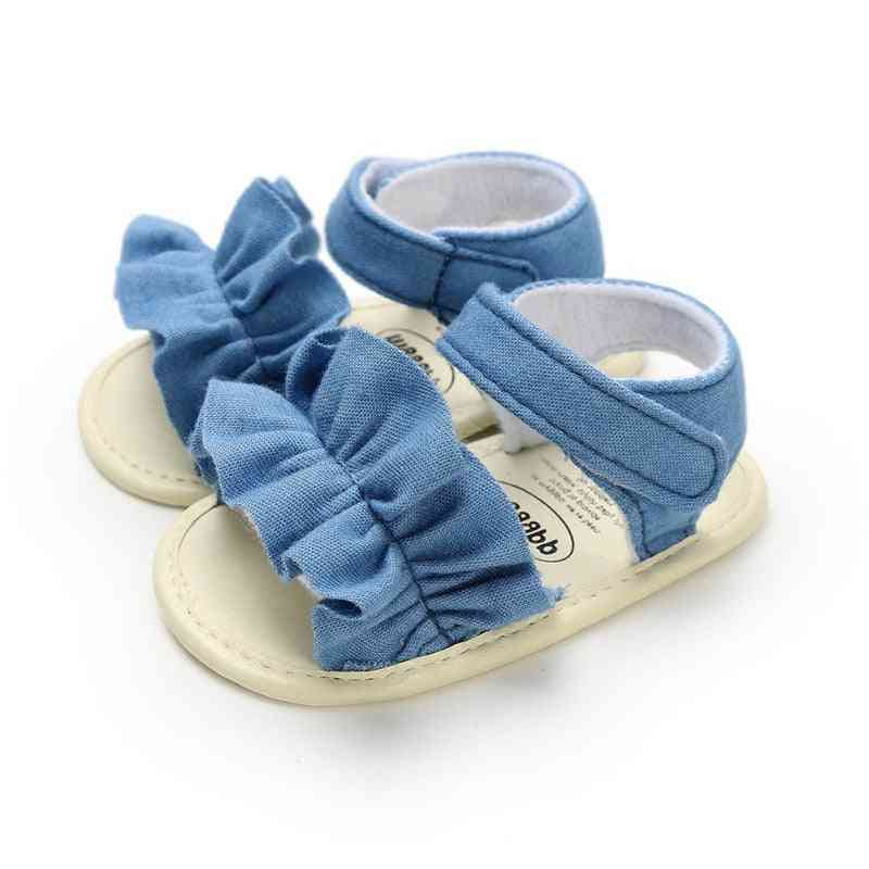 Baby Sandals For, Newborn, Dot Bow Princess Shoes