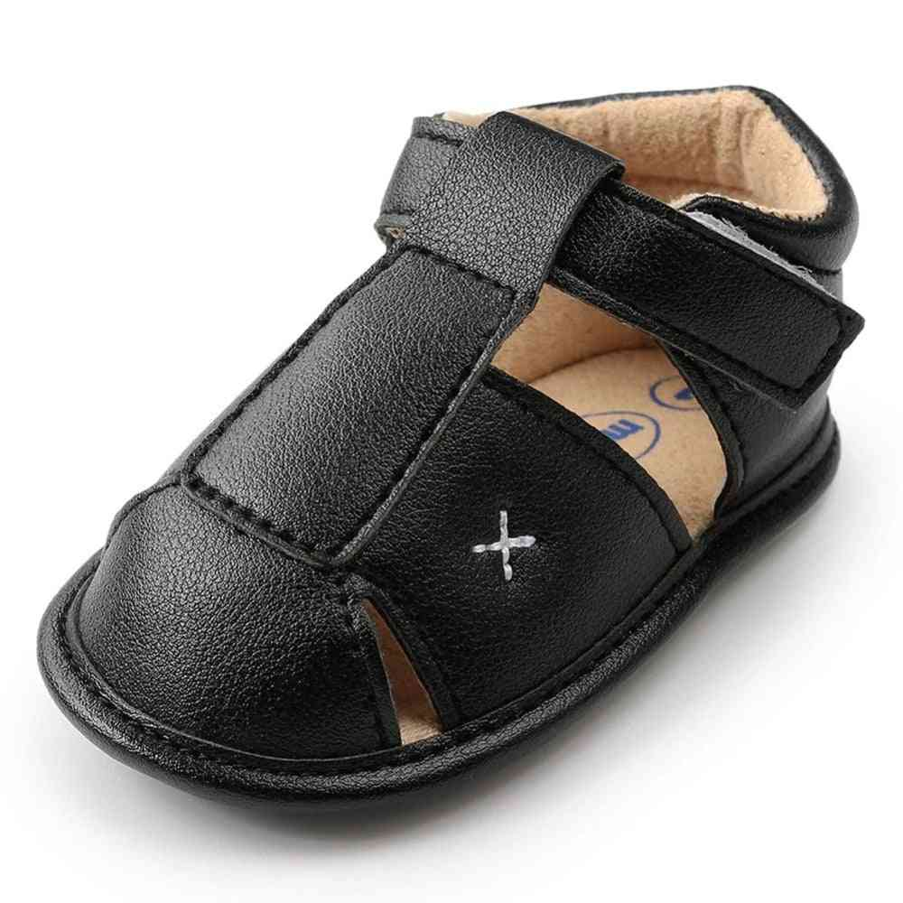 Summer Shoes Baby, Sandals Soft Leather, Bebe Prewalker Sole Genuine