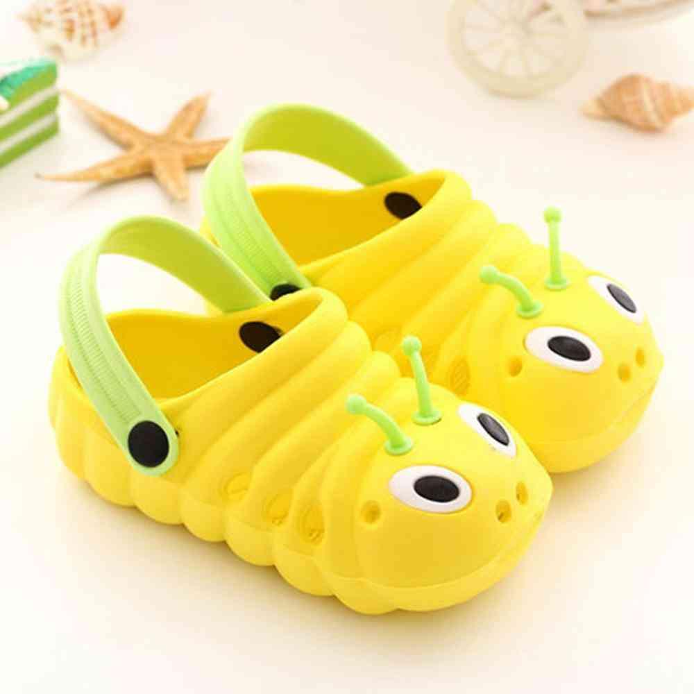 Cute Cartoon Design, Summer Baby Girl Sandals- Beach Slippers