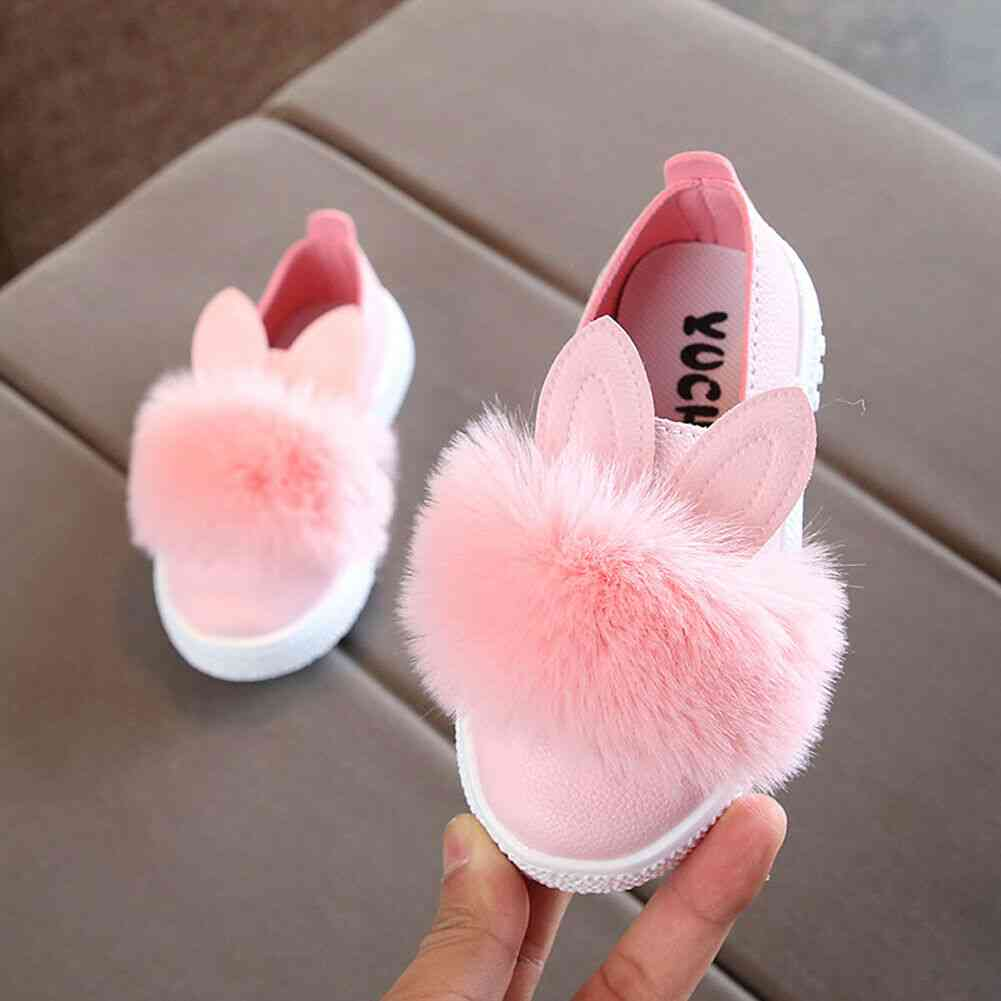 Cute Rabbit Ear Pattern, Anti-slip Soft Sole Baby Shoes