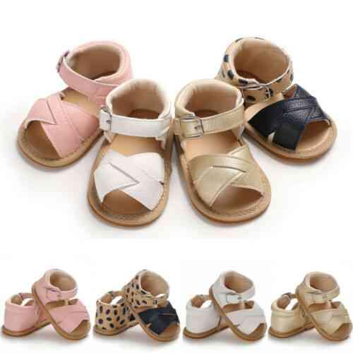 Summer Sandals-newborn Leather Sole Crib Shoes