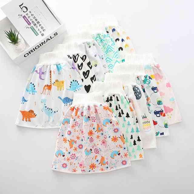 Washable, Waterproof  Cotton Baby Diaper Skirt