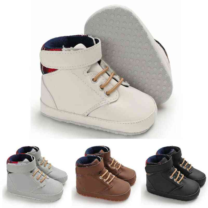 Soft Sole, Cotton Crib Shoes-anti-slip Sneaker