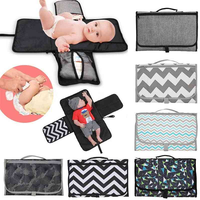 Baby Diaper Storage And Changing Bag