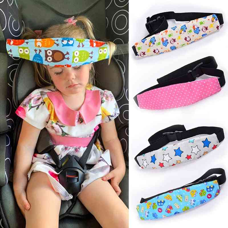 Head Support Belt For Neck Protection-fasten With Baby Car Seat