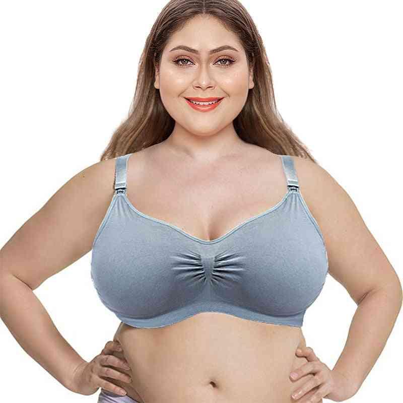 Women's Breathable Supportive Plus Size Nursing Bra