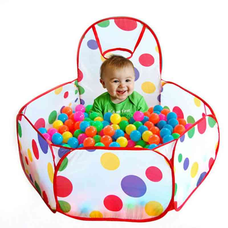 100pcs Of 5.5cm Colored Ocean Ball For Playhouse-kids Toy