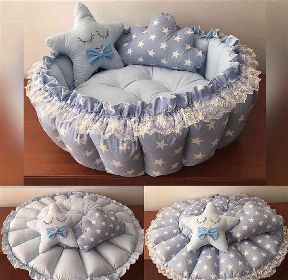Star Pop Up Play Mat-baby Bed Nest