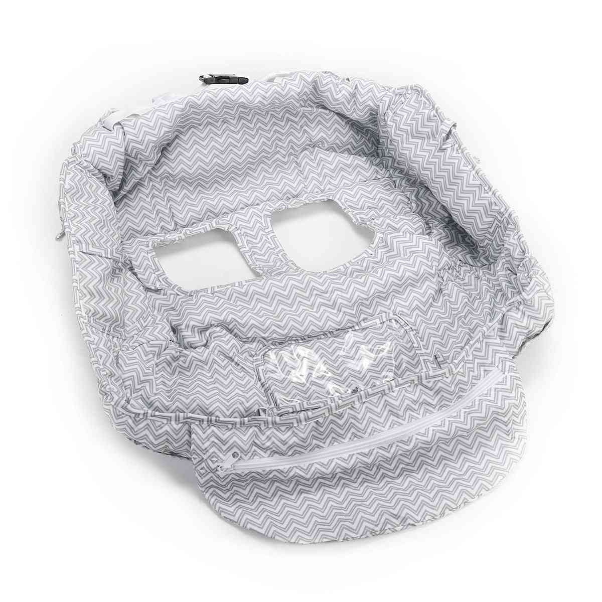 Foldable Baby Supermarket Shopping Cart Cover