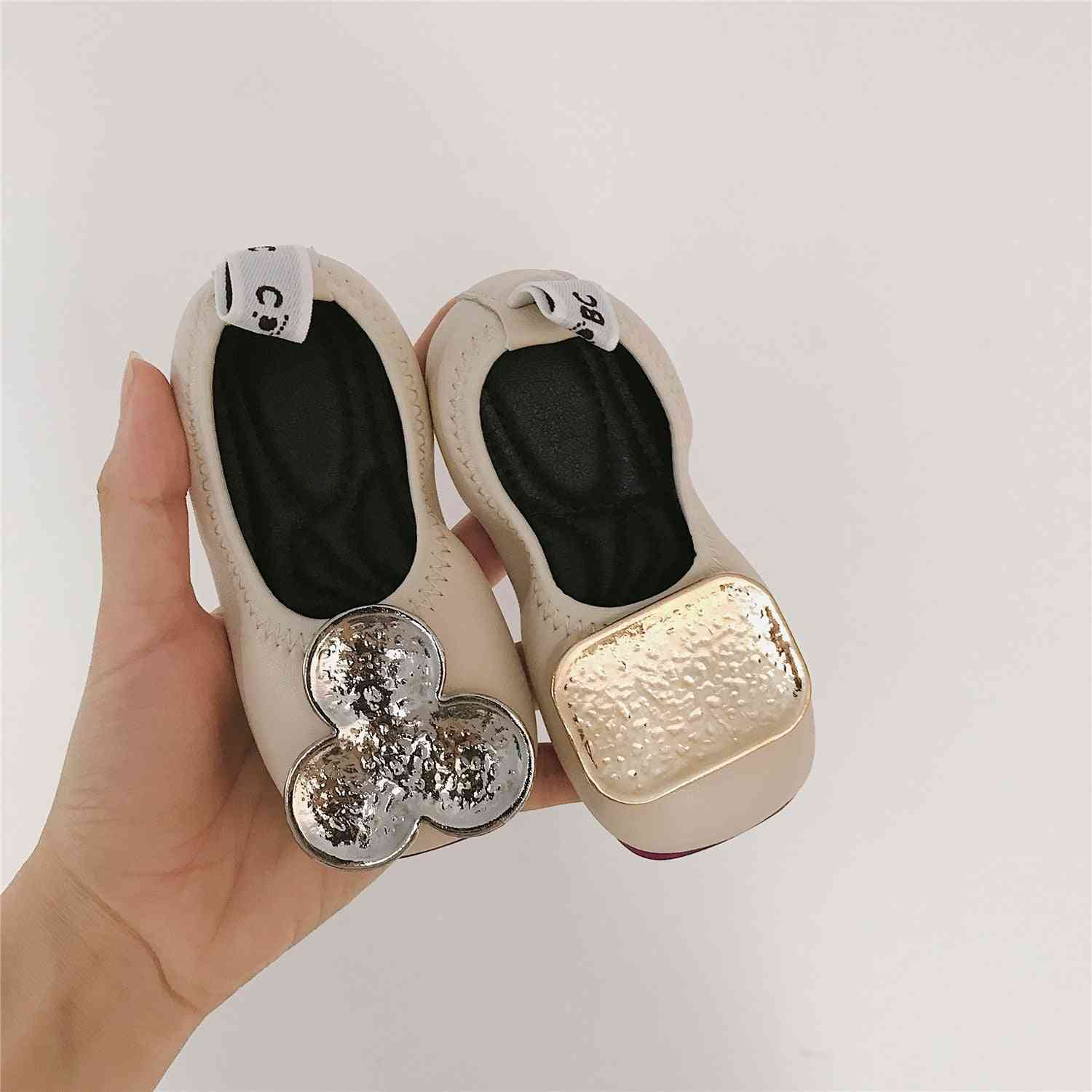 Summer- Ab Style -leather Princess Shoes For Baby