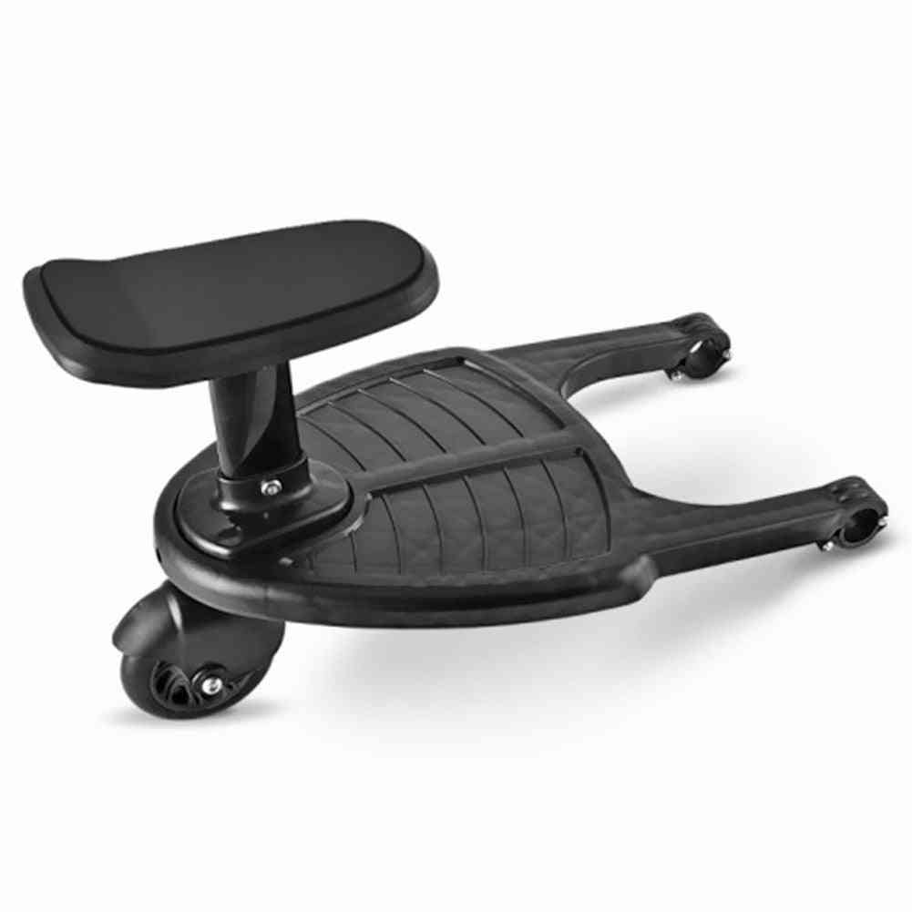 Stroller Pedal Adapter Kit-twins Scooter Standing Plate With Seat