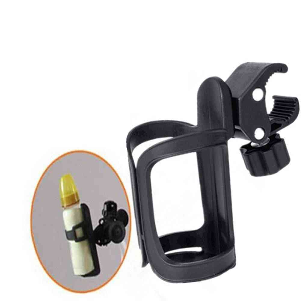 Baby Stroller Universal Cup Holder, Pram Nursing Bottle Umbrella Rack Rotatable