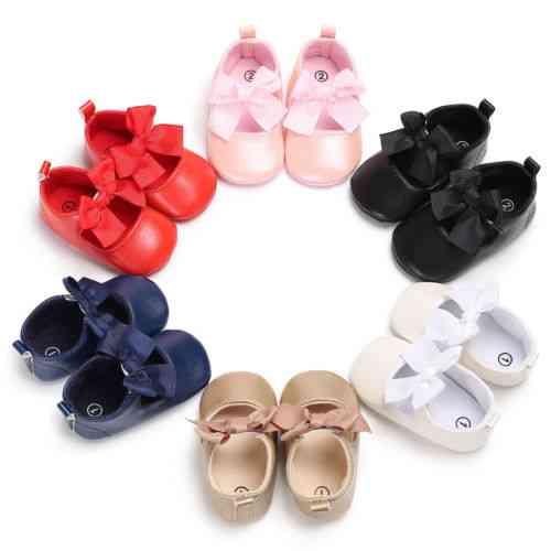 Baby Dress Pu Shoes, Princess Girl Boots Flats