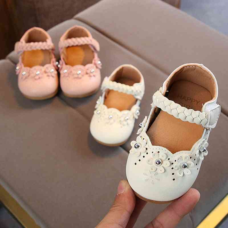 Flowers, Shoes-flats Princess Boots For Little Baby