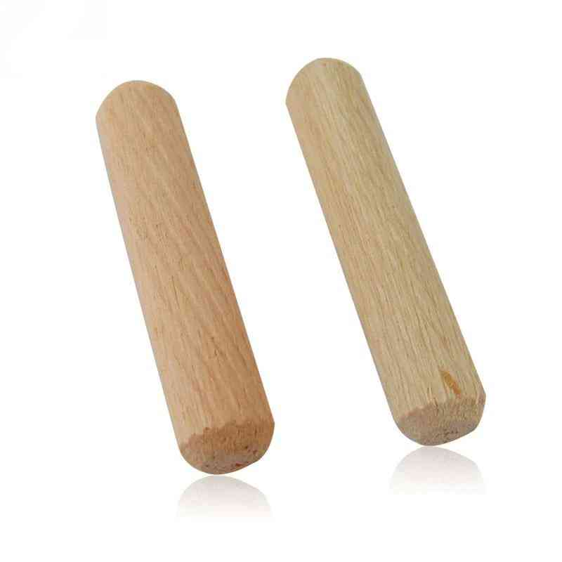 Cabinet Drawer Round Fluted, Craft Wooden Dowel Pins Rods For Furniture Fitting