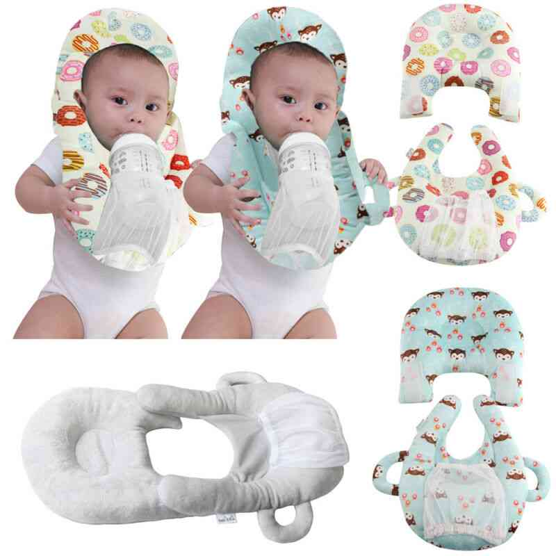Ring Shaped Baby Bottle Support Feeding Pillow
