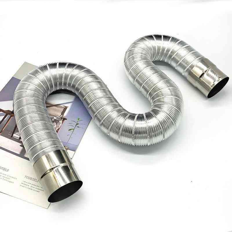 Fireproof, Stainless Steel Aluminum Strong Exhaust Pipe/extension Tube