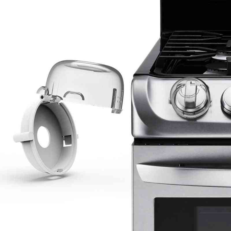 Gas Stove Switch Protective Cover- Locks For Safety