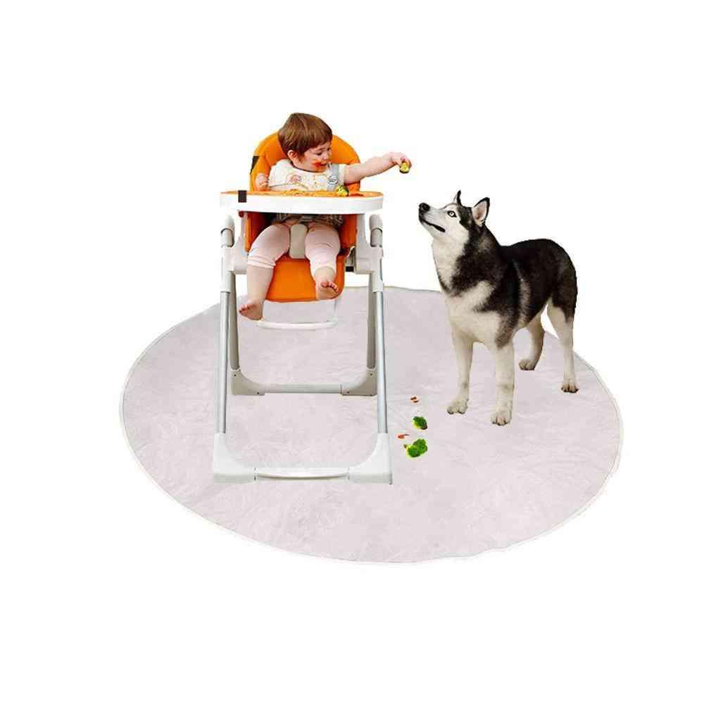 Plastic Play Mat, Waterproof High Chair Floor Protector