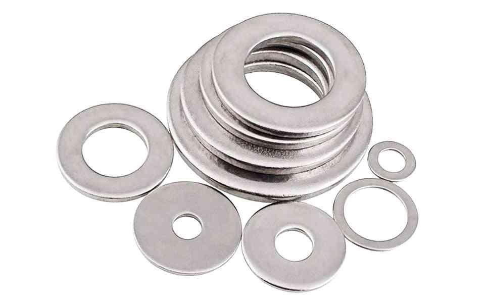 304 Stainless Steel Gasket Ultra Thin Metal Screw Flat Washer Set