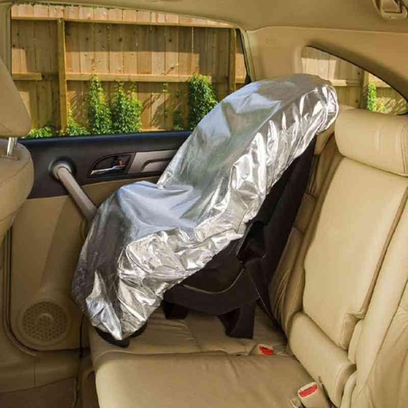 Children Aluminium Film Sunshade Uv Protector Dust Insulation Cover