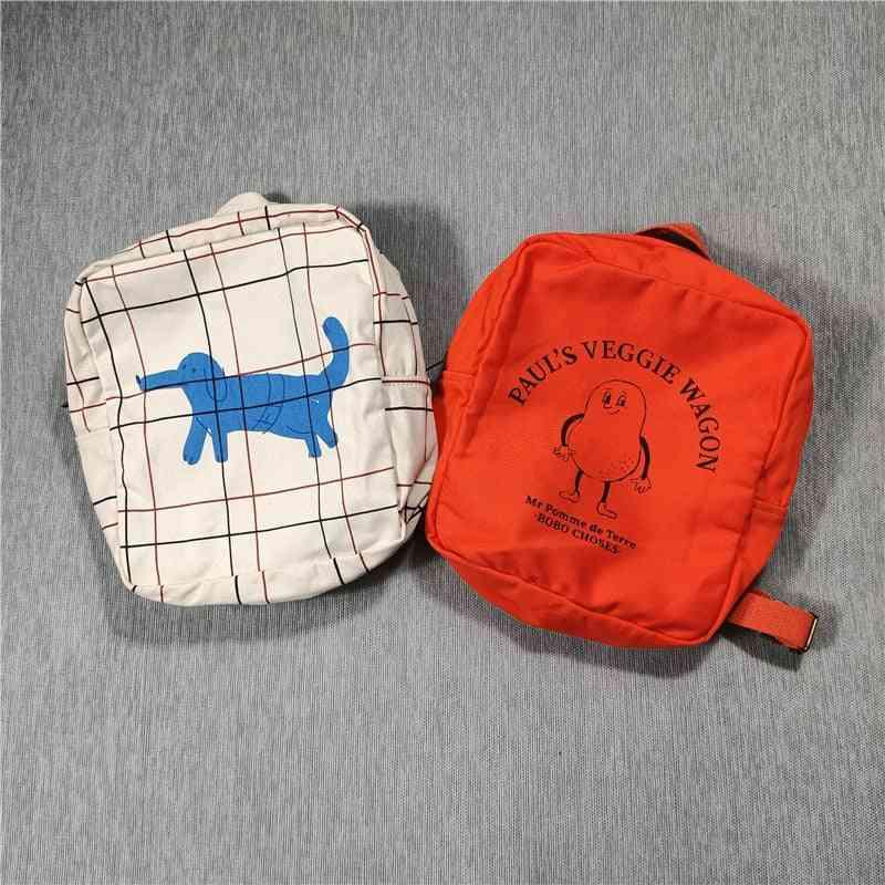Kids Backpacks -bobo Printed Schoolbags
