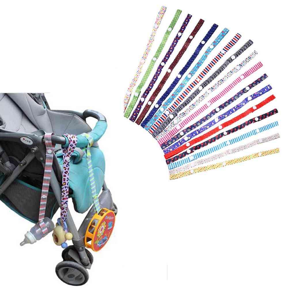 Baby Pacifier Bottle Anti-lost Chain Strap Holder, Belt Clip For Stroller
