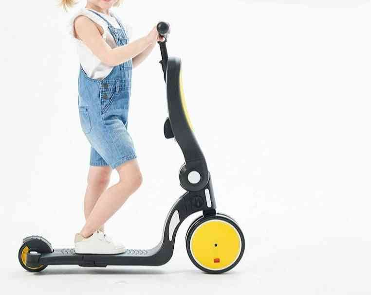 Multi-function 5 In 1, Baby Scooter, Balance Car