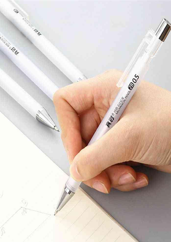 Transparent Automatic Mechanical Pencil-0.5mm Sketch Drawing Pens