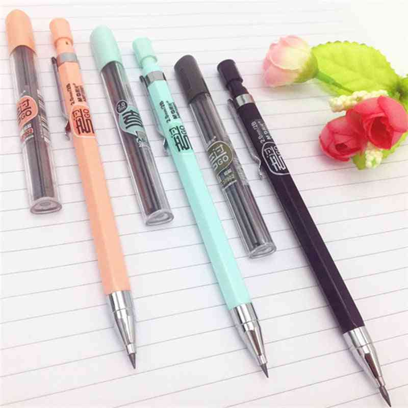 Color Mechanical Pencil, Writing Kids School Stationery