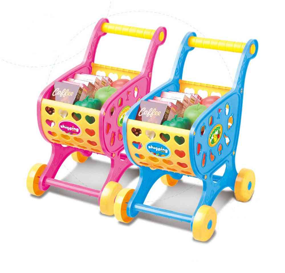 Shopping Carts Walker-pretend Play For