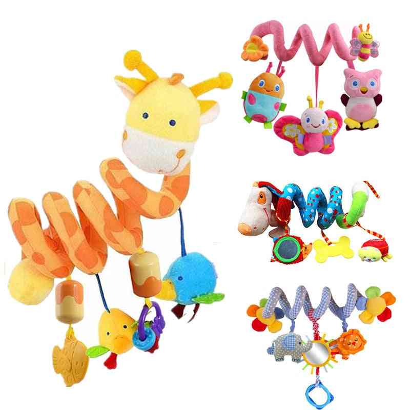 Baby Rattles Mobiles Educational For Teether, Toddlers Bed Bell, Baby Stroller, Hanging Dolls