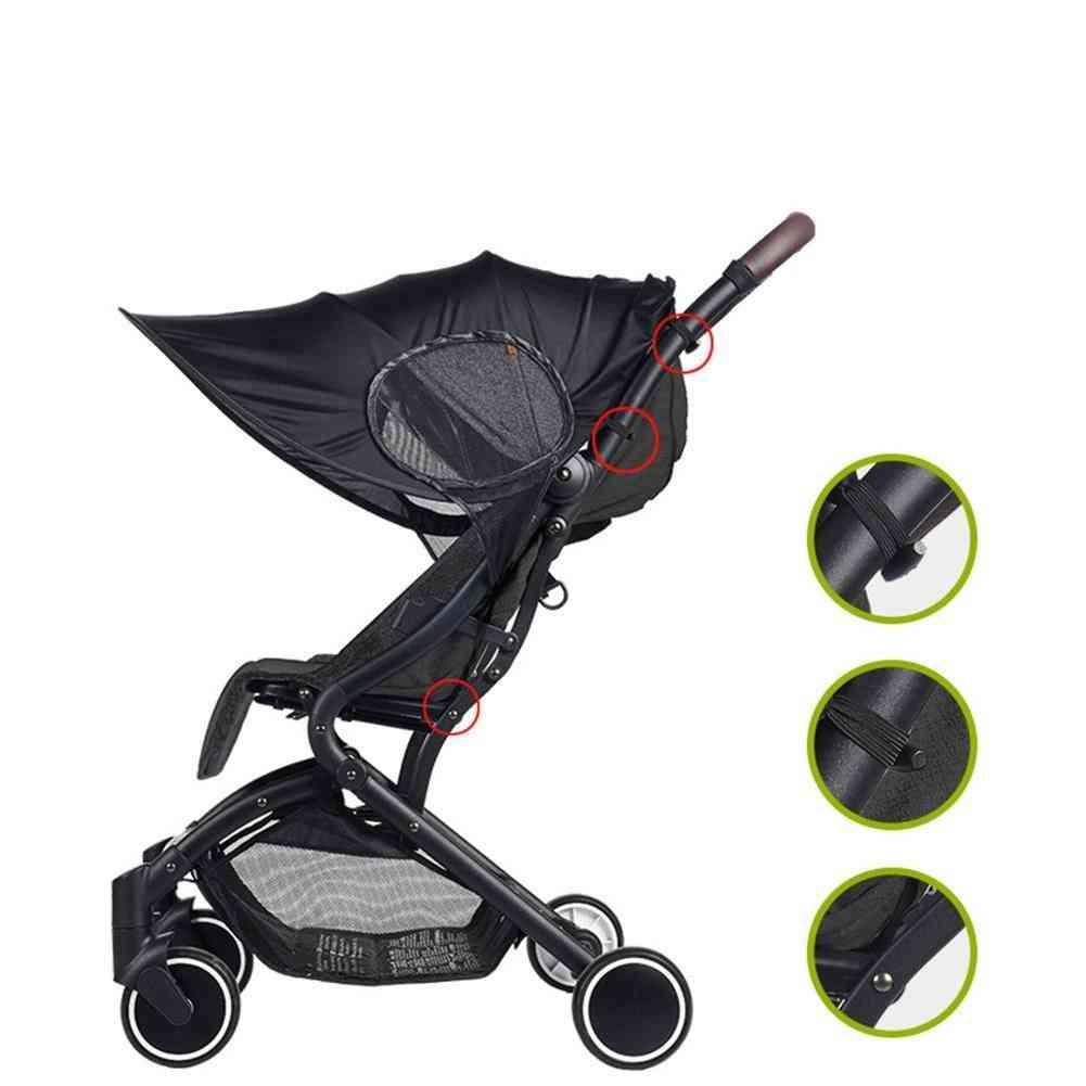 Uv-resistant Awning, Universal Detachable Baby Sunshade Stroller
