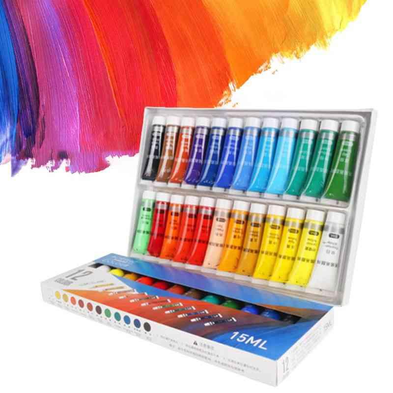 Colors Professional Acrylic Paints Tubes
