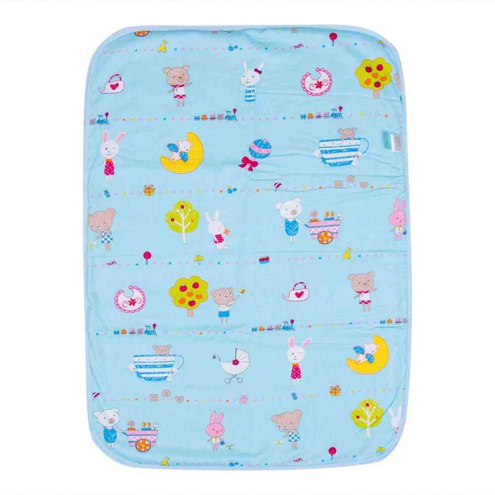 Cartoon Printed, Waterproof Newborn Diaper Changing Mat