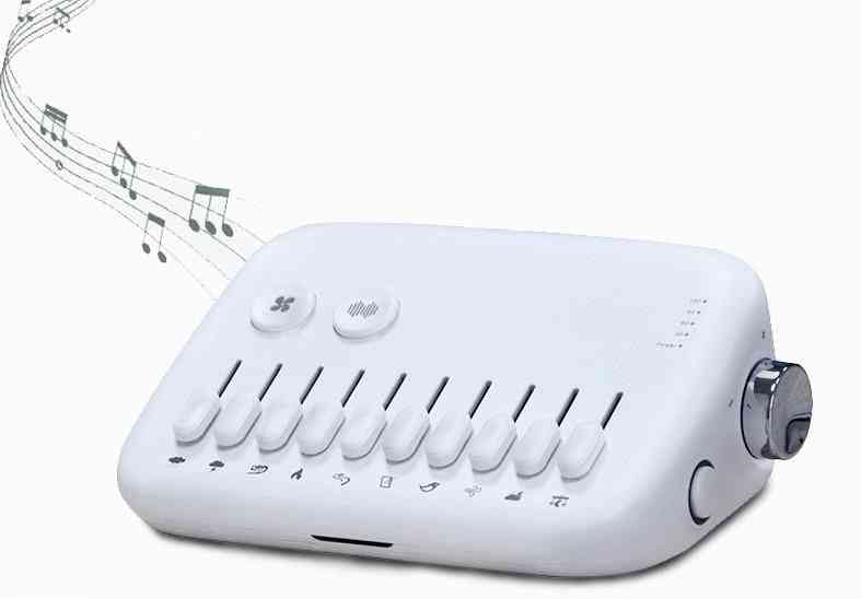 Usb Rechargeable White Noise Sound Machine, Baby Sleeping Monitors Toy