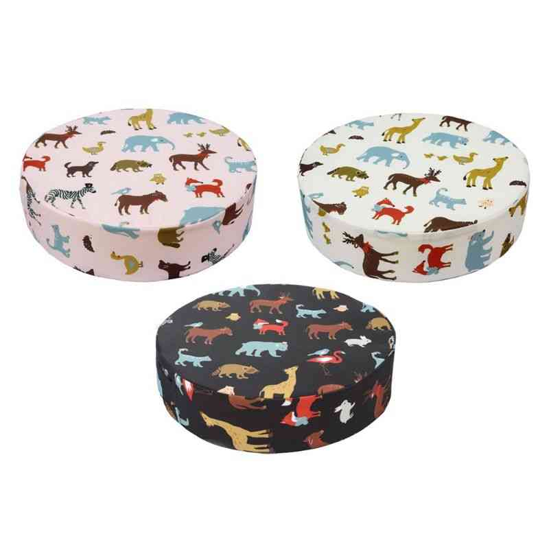 Beautiful And Practical Child Seat Heightening Round Cushion